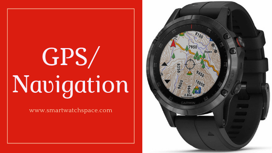 GPS Feature in Smartwatch