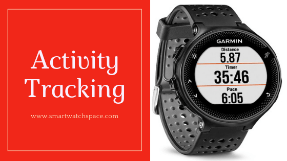 Activity Tracking Feature