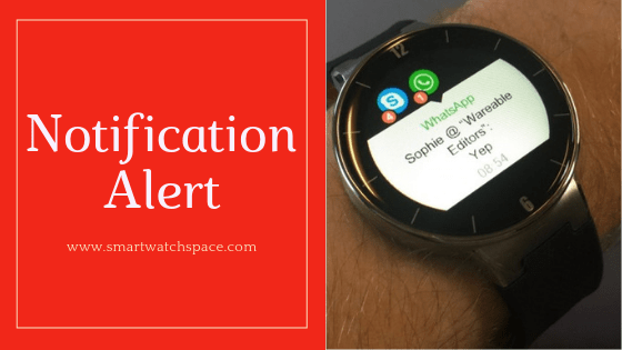 Notification Alert