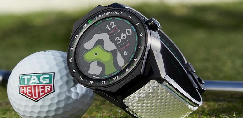 TAG Heuer 'Golf Edition' Smartwatch