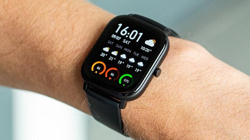 Display of GTS Smartwatch