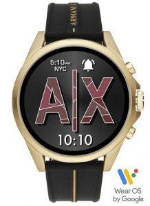 Armani Exchange-Men Black Drexler Smartwatch