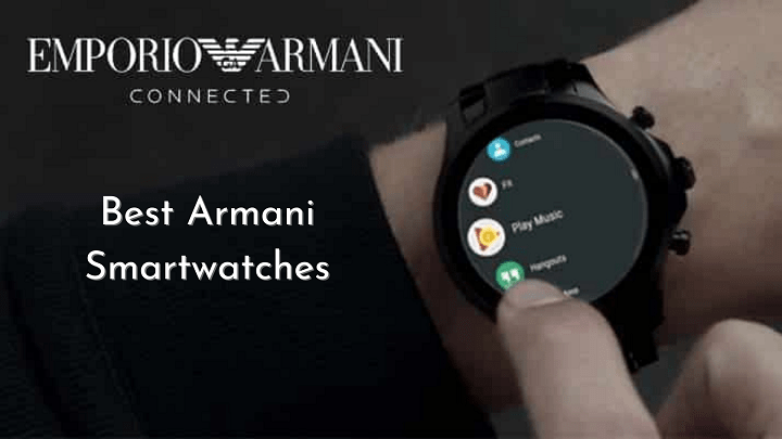 Armani smartwatches 2021