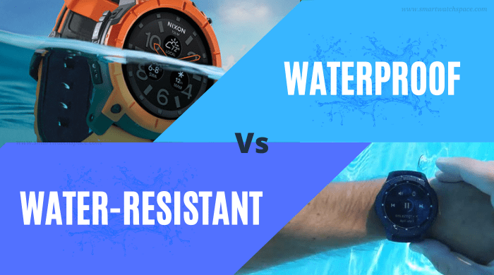 Water-Resistant VS Waterproof