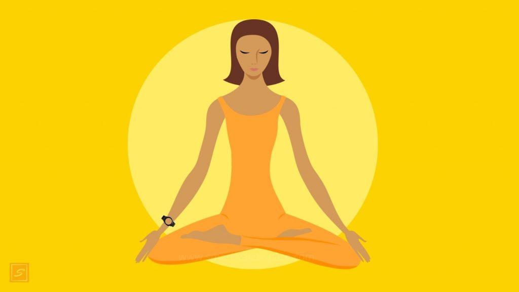 fitness tracker yoga