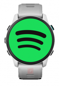 Spotify app for Garmin Watches