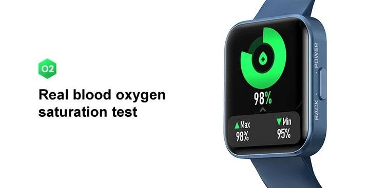Oxygen sensor in Kospet Magic smartwatch