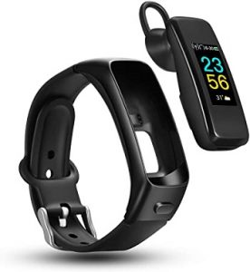 Odfit FB3 fitness bracelet with earbuds