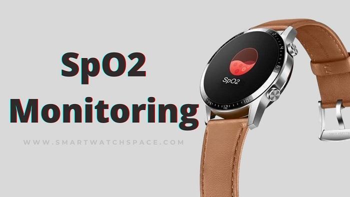 Sp02 Monitoring Smartwatch