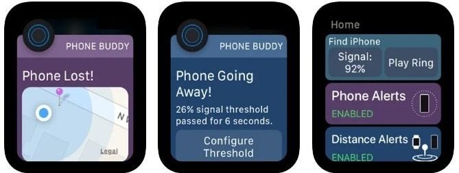 PB: Lost phone alert App