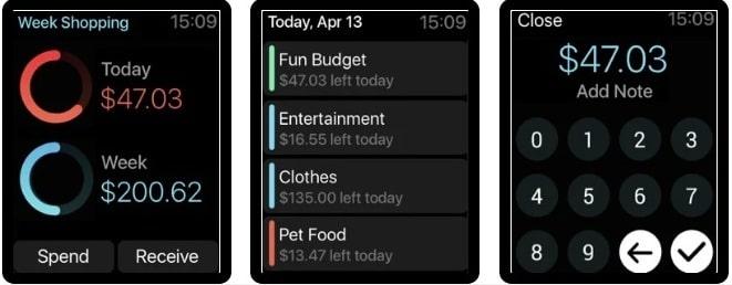 Pennies App for Apple Watch